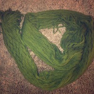 Green Woven Scarf by ModCloth